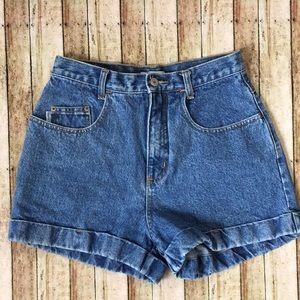 Vintage Esprit High Waisted Jean Shorts